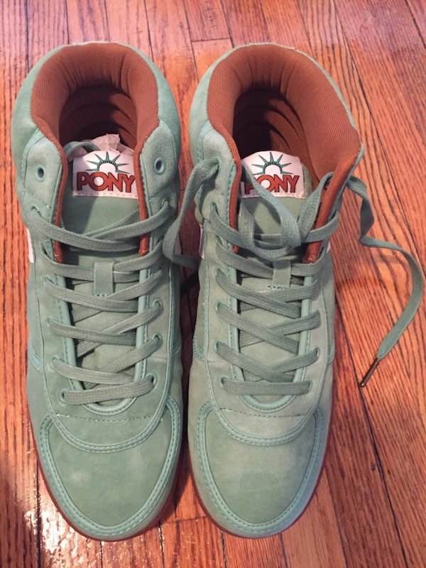 Men s size 8 atmos x Pony Slam Dunk Hi