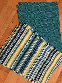 Set of 5 Placemat/Napkin Set (Indoor/Outdoor)