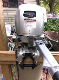 gray and black outboard motor Prince Frederick, 20678