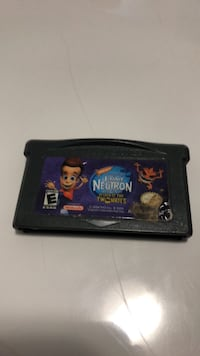 blue and black Nintendo Game Boy Advance game cartridge Edmonton, T5Y 2V9