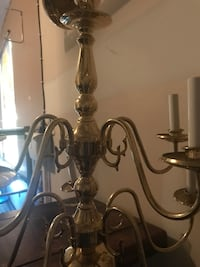 Chandelier brass (only, no bulbs) 7 km