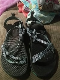 pair of black-and-gray hiking sandals Enterprise, 36330