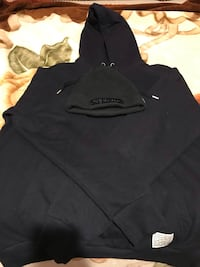 H&M/Divided hoodie and Supreme Beanie