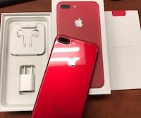 Product red iphone 7 plus set* Fresno, 93706