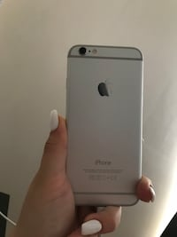silver iPhone 6 with case Montréal, H9H 1Z2