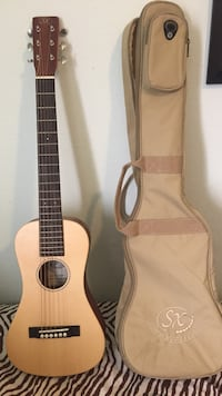 brown classical guitar with gig bag Anaheim, 92801