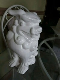 White dragon ceramic decoration Tamarac, 33319