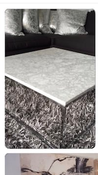 Marble stone coffee table 36 x 36