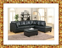 Black sectional Silver Spring, 20906