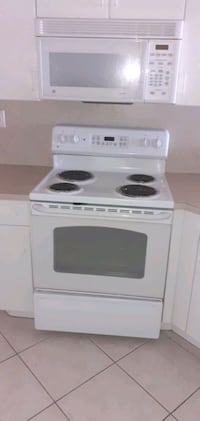 Electric range G E