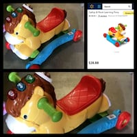 Fisher price gallop an rock learning ride on Apple Valley