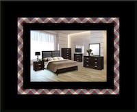 B120 11pc bedroom set with mattress Alexandria, 22305