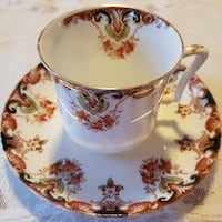 Antique Florence Tea Cup & Saucer For Sale! Ottawa