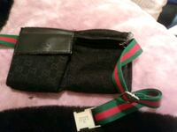 black and green leather bag Calgary, T3J 0A3