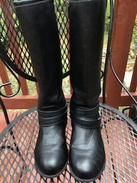 Michael Kors Black Boots Girls size 2 Woodbridge, 22192