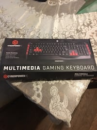 MULTIMEDIA GAMING KEYBOARD  Spring Grove, 17362