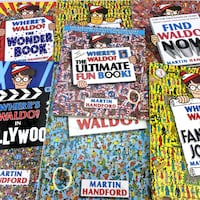 Lot 7 Where's Waldo Puzzle Books Kids Series 1st Edition Set With Wally Stickers Port Colborne