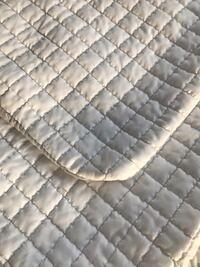 Quilted white and grey Euro sized pillow covers & cases Las Vegas, 89113
