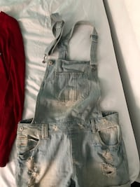gray denim distressed short shorts Montréal, H8N 1W3