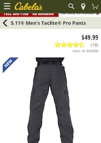 511 Taclite Pro size Taclite Pro Pants Size 28w 32in, brand new with tags Tuscaloosa, 35401