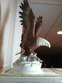 1979 HOMCO Masterpiece Porcelain Bald Eagle Falling Waters, 25419