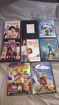 8 movies im selling for $10 there all in good condition Winnipeg, R2V 1P8