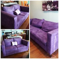 Couch set - love seat and couch