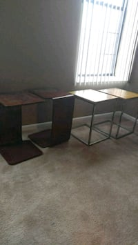 Hotel style side tables