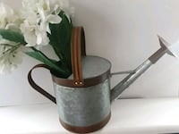 Farmhouse galvanized watering can home decor garde Wrightsville, 17368