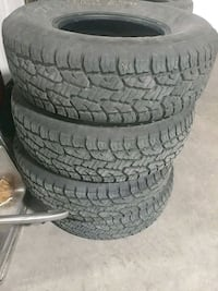 Tires 265 75 16 like new