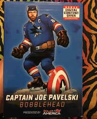 Captain Joe Pavelski San Jose Sharks Morgan Hill, 95037