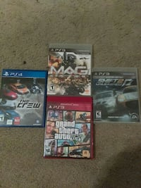 four assorted Sony PS4 game cases Myrtle Beach, 29575
