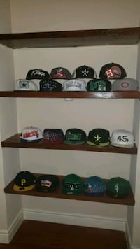 Hat collection (19 hats)
