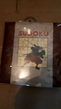 Sudoku game brand new never used $$5$ Montréal, H3K 1X1