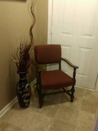 Office Chair /Reupholstered Old Hickory, 37138