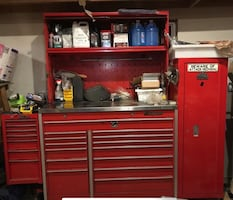 Snap on and Mac tool cabinet