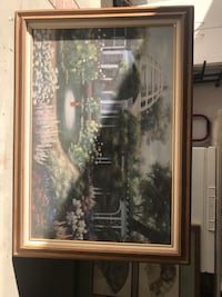 brown wooden framed painting of house Torrance, 90504