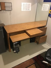 Desk. Just tightened up all the screws.  (sturdy)