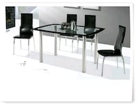 glass top 5pc dinning table set Baltimore, 21209