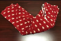 Red and white abercrombie & fitch pj pants - obo San Diego, 92131