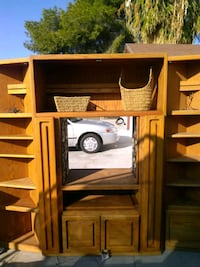 5 Piece Oak Entertainment Center Las Vegas, 89110