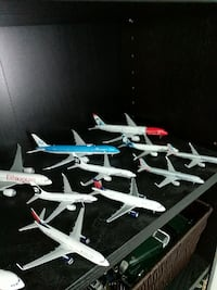 assorted plane scale model