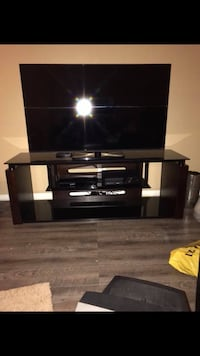 black wooden tv stand Kissimmee, 34741