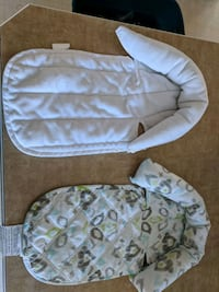 baby's white and gray bouncer 3125 km