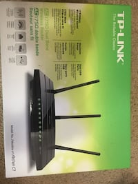 Tp-link ac1750 dual band wireless router Whitby, L1N 3P7