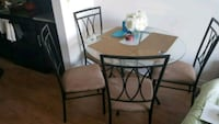 Don't miss quick move sale- 4 chair Dinning set! Price negotiable Washington, 20011
