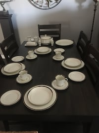 Brand new service for 12 vintage Royal Castle china set...see comments