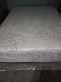 White and gray floral mattress Paramount, 90723