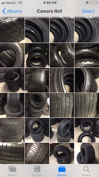 black and gray vehicle tire lot Lakewood, 80226