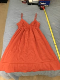 Orange sundress forever 21? Size M Rockville, 20850